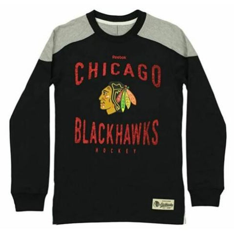 "Chicago Blackhawks Youth ""Scratched Out"" Team Long sleeve Tee"