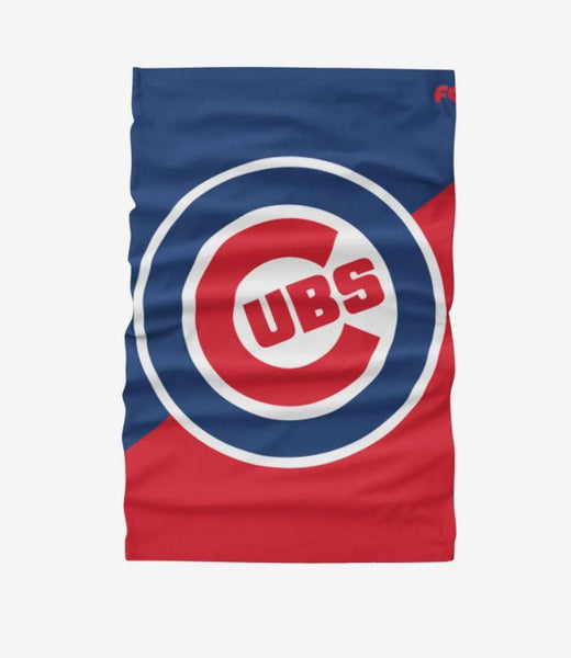 Chicago Cubs FOCO Adult Gaiter Scarf Headband Face Covering Face Mask