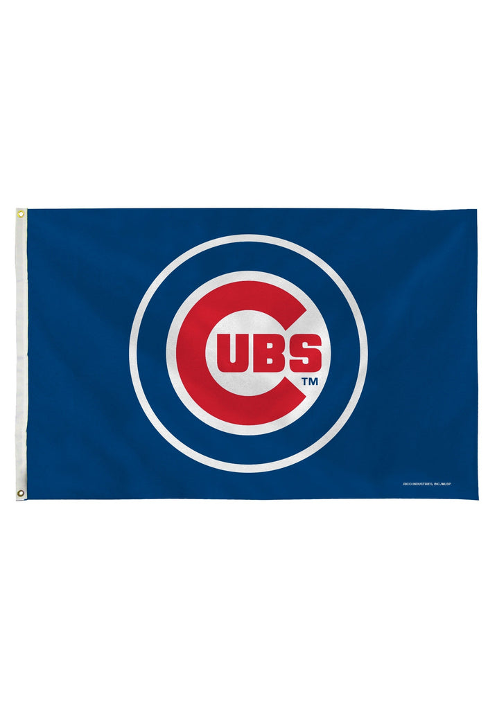 Chicago Cubs MLB Rico Industries Deluxe 3' x 5' Flag