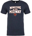 Chicago Bears Men's '47 Brand Monsters of the Midway T-Shirt - Navy