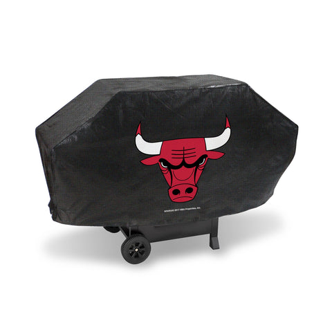 "Chicago Bulls Executive Grill Cover 68"" x 21"" x 35"" Fits Most Large Grills"