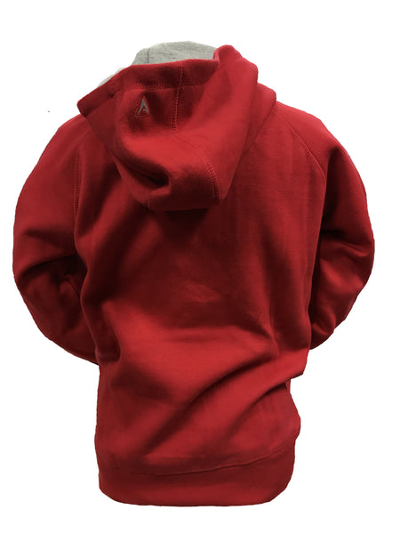 Youth Antigua Polska Poland Pullover Hoodie w/Pocket – Red or White
