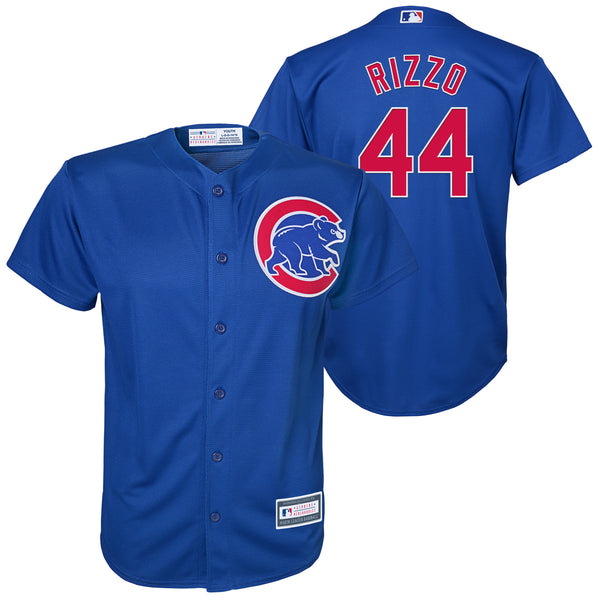 Chicago Cubs Youth #44 Anthony Rizzo Outerstuff Jersey Name and Number Stitched