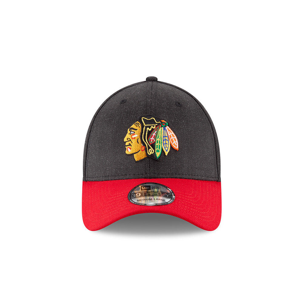 buy popular ca77d 4747f ... Chicago Blackhawks New Era 39THIRTY Change Up Classic Flex Fitted Hat  NHL Cap ...