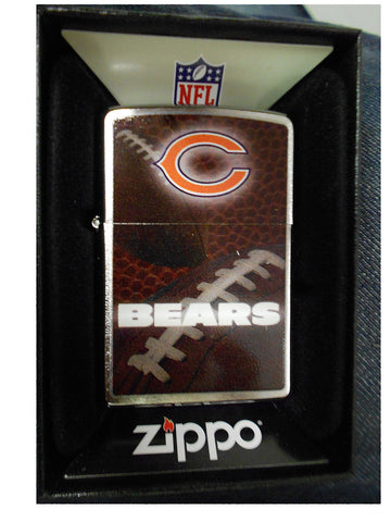 Chicago Bears Zippo Lighter 2014 NFL Official Season Z703 - G13 Chrome