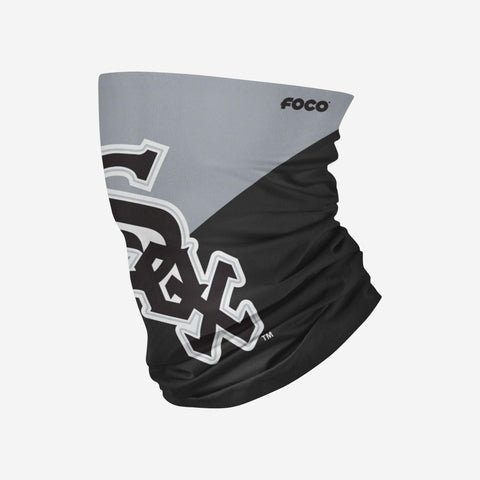 Chicago White Sox Big Logo FOCO Adult Gaiter Scarf Headband Face Covering Face Mask
