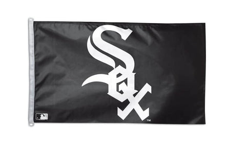 Chicago White Sox's MLB WinCraft 3x5 Flag -Black