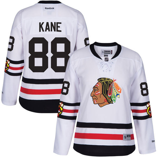 Chicago Blackhawks Womens Patrick Kane Reebok 2017 Winter Classic Premier Jersey