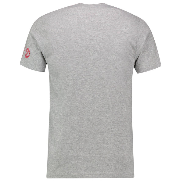 Manchester United Men's adidas Heather Gray Take Me Holm T-Shirt