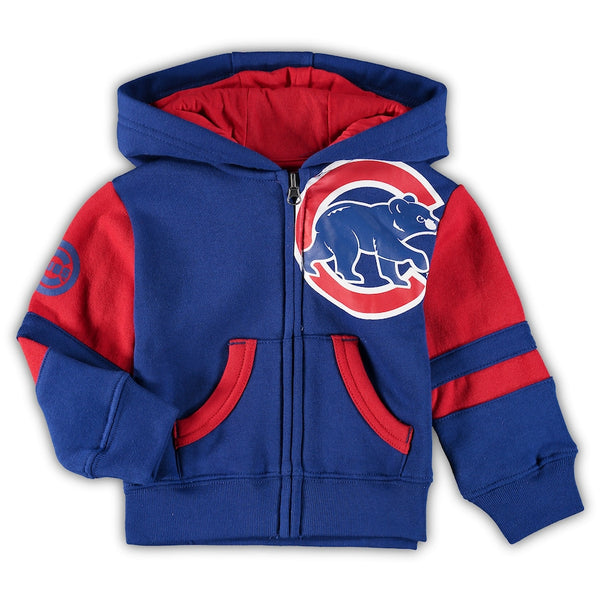 New Era Chicago Cubs Royal Sport Cuffed Knit Hat with Pom