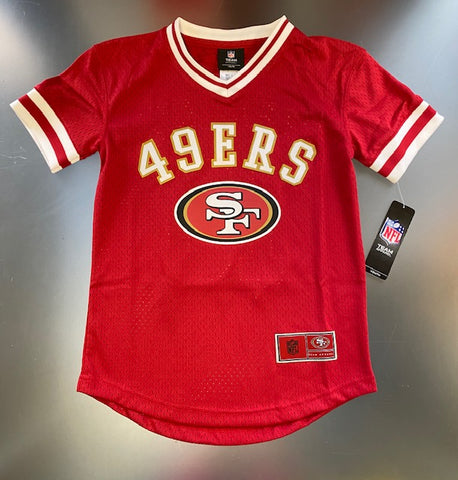 49ers NFL Youth Garoppolo #10 Team Apparel Jersey