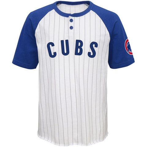 86ad46219b5 Sale Chicago Cubs Youth White Royal Game Day Jersey T-Shirt