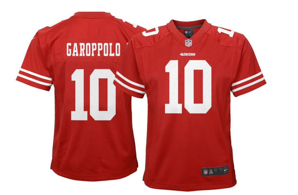 Nike Youth Home Game Jersey San Francisco 49ers Jimmy Garoppolo ...