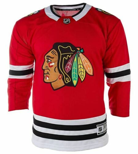 Chicago Blackhawks NHL Youth Premier Home Jersey - Red