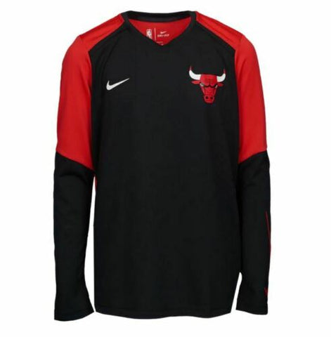 Chicago Bulls NBA Youth Nike Dri-Fit Longsleeve Practice Shirt