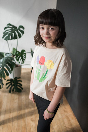 Kawaii Spring Flowers T-Shirt