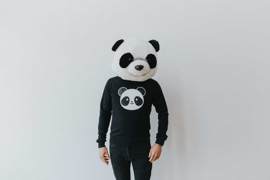 Kawaii Panda Sweatshirt Adult Unisex