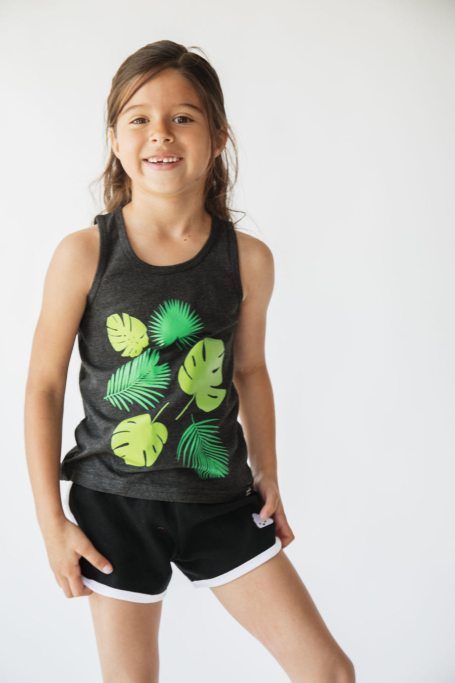 Palm Leaves Tank Top