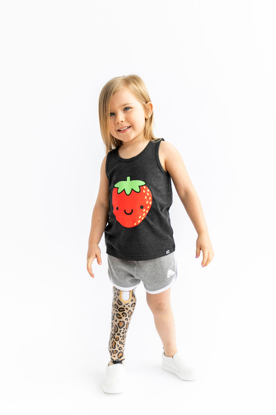 Kawaii Strawberry Tank Top