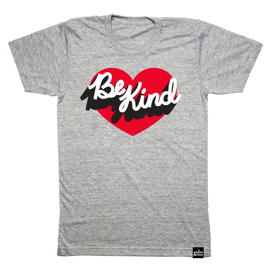 Be Kind Heart T-Shirt Adult Unisex