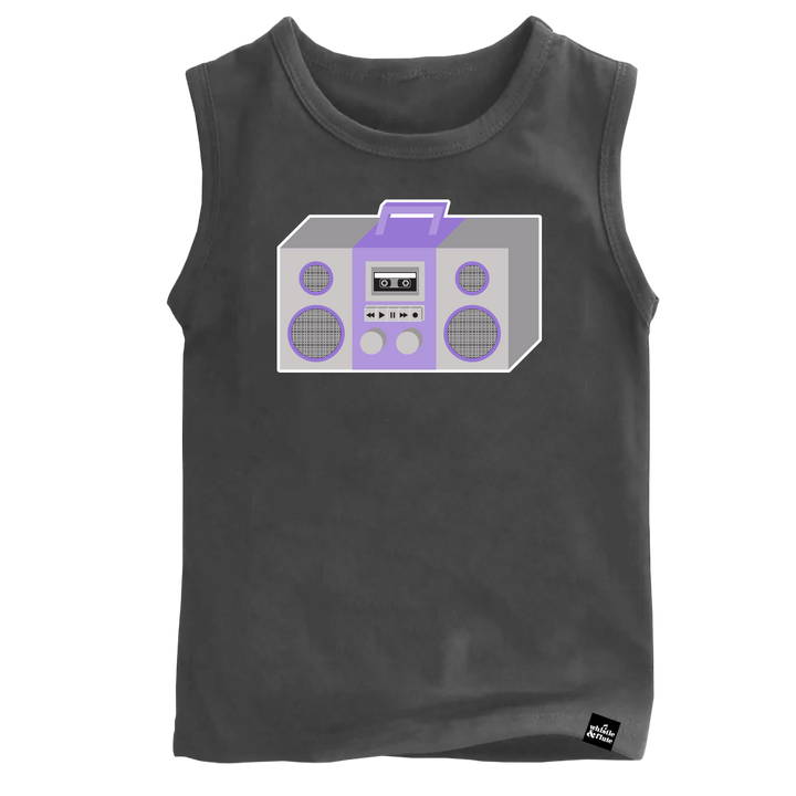 Boom Box Sleeveless T-Shirt Adult Unisex