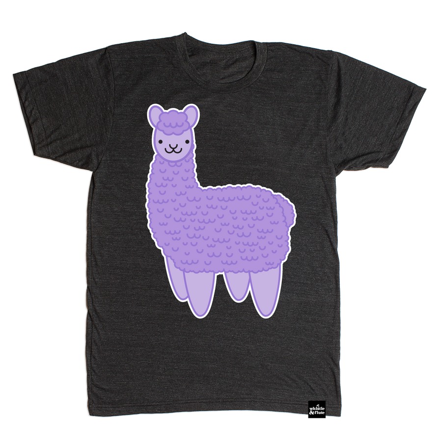 Kawaii Alpaca T-Shirt Adult Unisex
