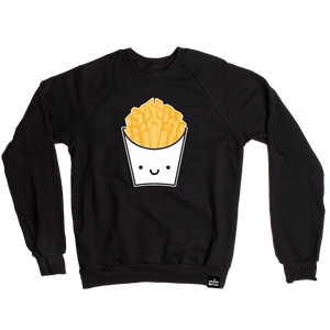 Kawaii Fries Sweatshirt Adult Unisex