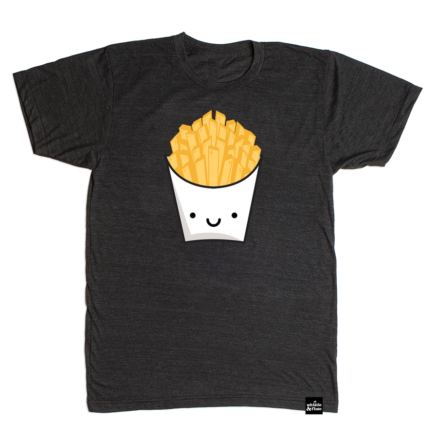 Kawaii French Fries T-Shirt Adult Unisex