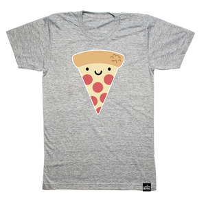 Kawaii Pizza T-shirt Adult Unisex