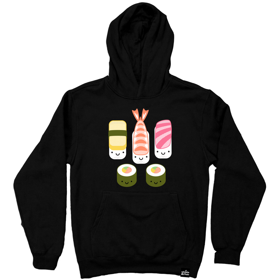 Kawaii New Sushi Hooded Sweatshirt Adult Unisex