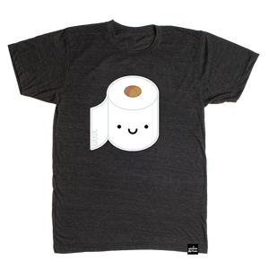 LIMITED TIME ONLY! Kawaii Toilet Paper T-shirt Adult Unisex*