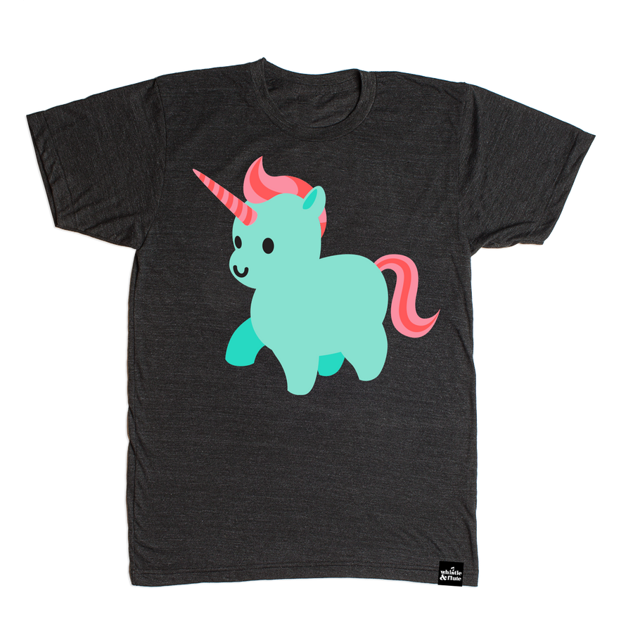 Kawaii Unicorn T-Shirt Adult Unisex