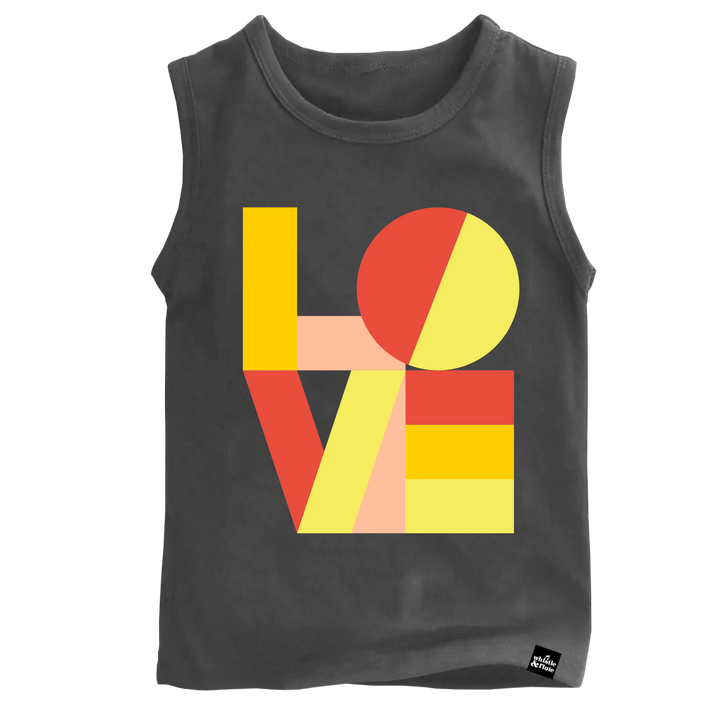 Modern Love Sleeveless T-Shirt Adult Unisex