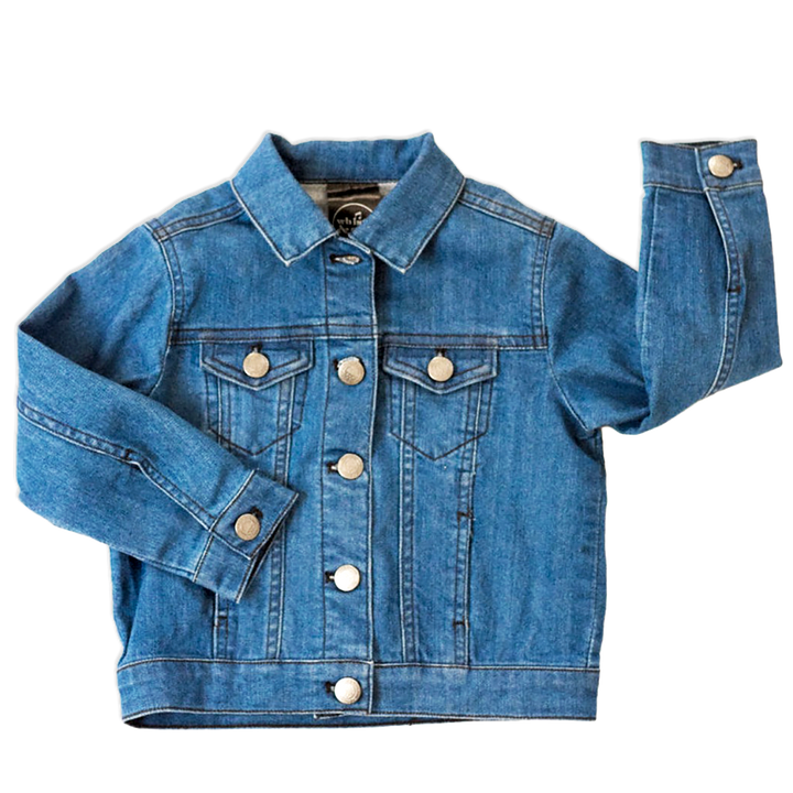 Bamboo Denim Jacket