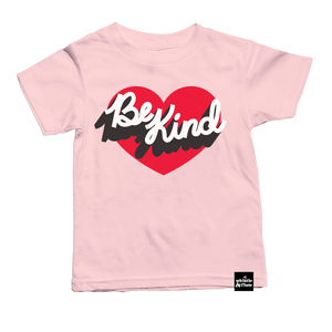 Be Kind Heart T-Shirt - PINK SHIRT DAY