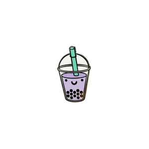 Kawaii Bubble Tea Enamel Pin