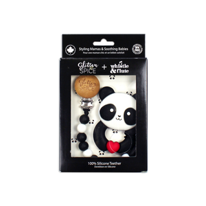 Kawaii Panda Silicone Teether