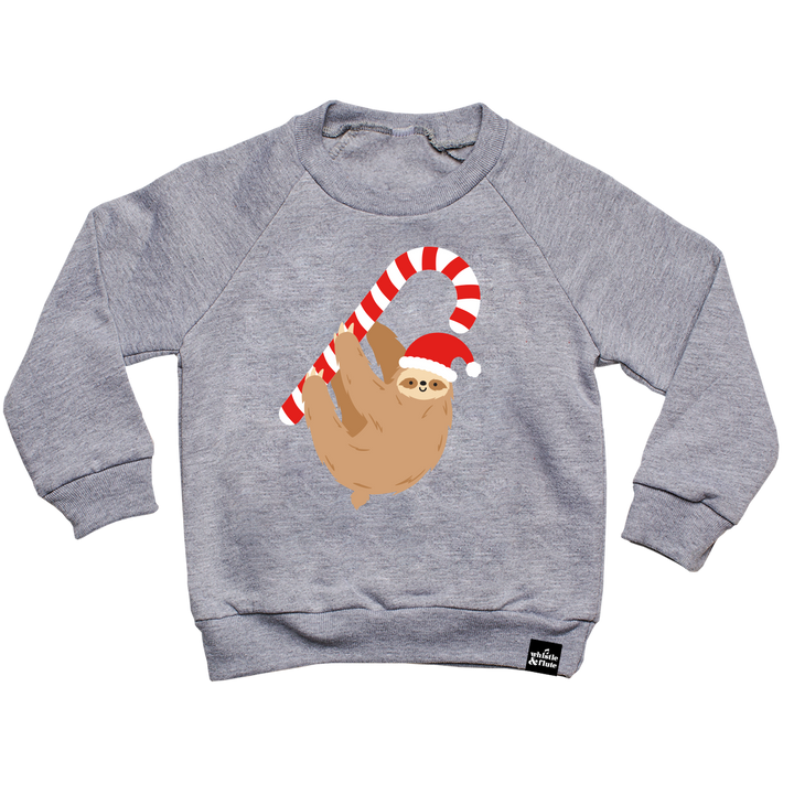 Kawaii Holiday Sloth Sweatshirt