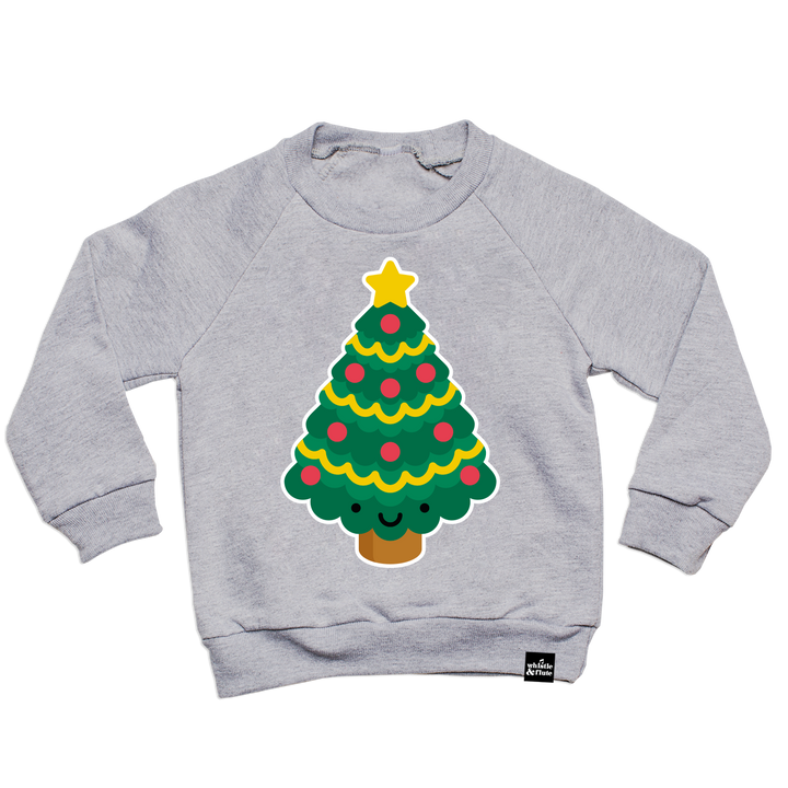 Kawaii Christmas Tree Sweatshirt