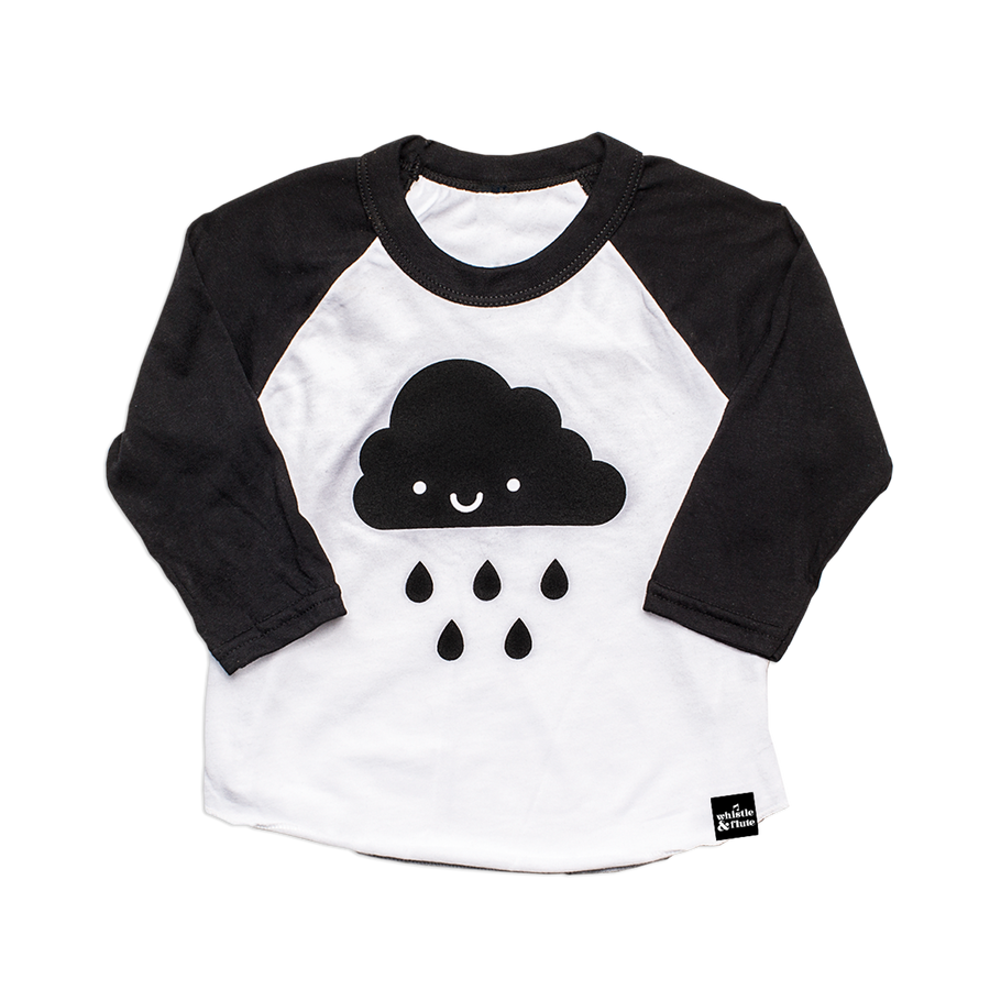 Kawaii Cloud Baseball T-Shirt