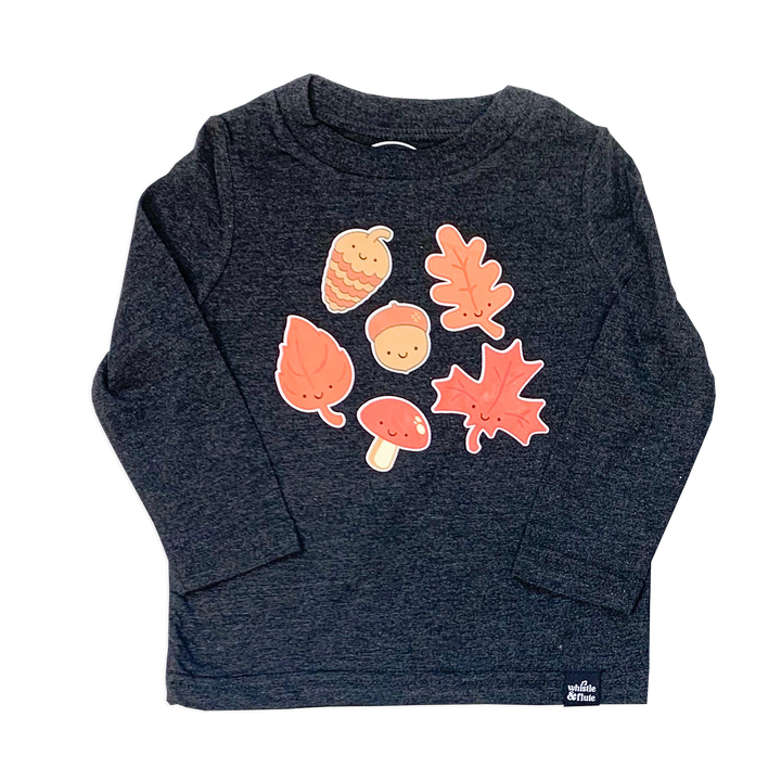 Kawaii Leaves Longsleeve T-Shirt