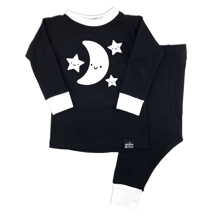 Kawaii Moon & Stars Pyjama Set
