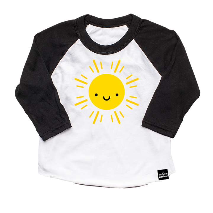 Kawaii Sun Baseball T-Shirt