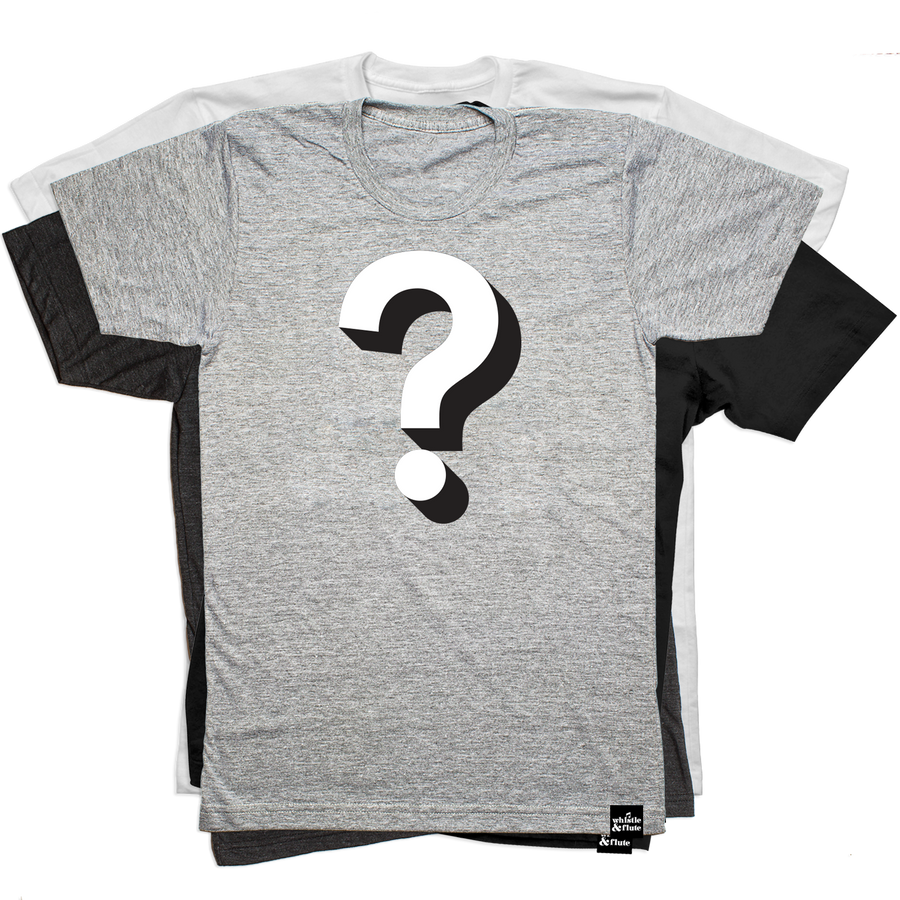 Whistle & Flute T-Shirt Mystery Pack - Adult Unisex