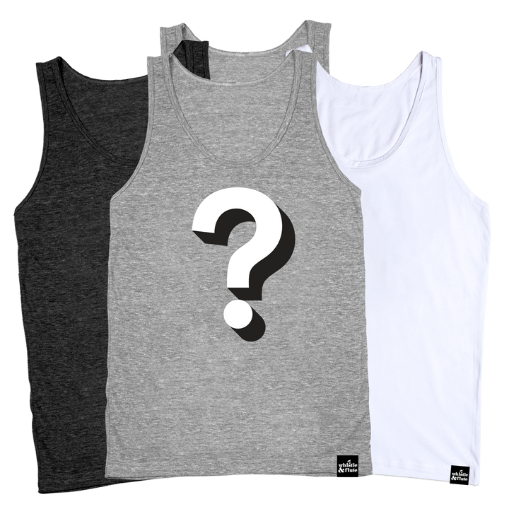 Whistle & Flute Tank Top Mystery Pack - Adult Unisex