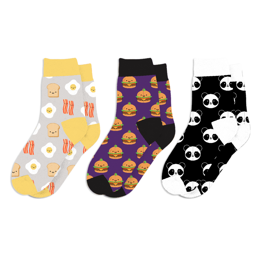 Kawaii Sock 3-Pack Kids/Adult - Series 2