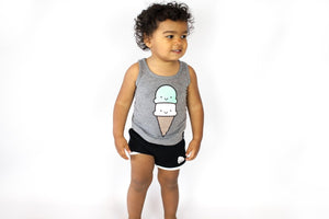 Kawaii Ice Cream Tank