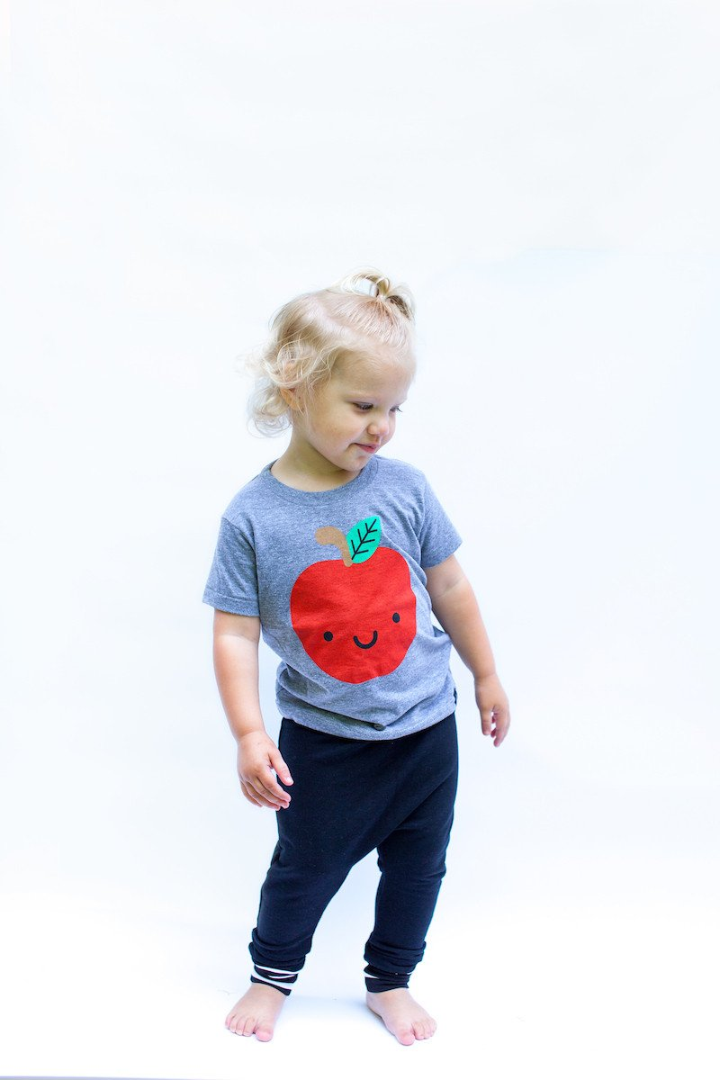 Kawaii Apple T-Shirt