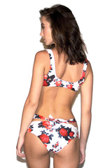 Midnight Swim Rose Print Bottom