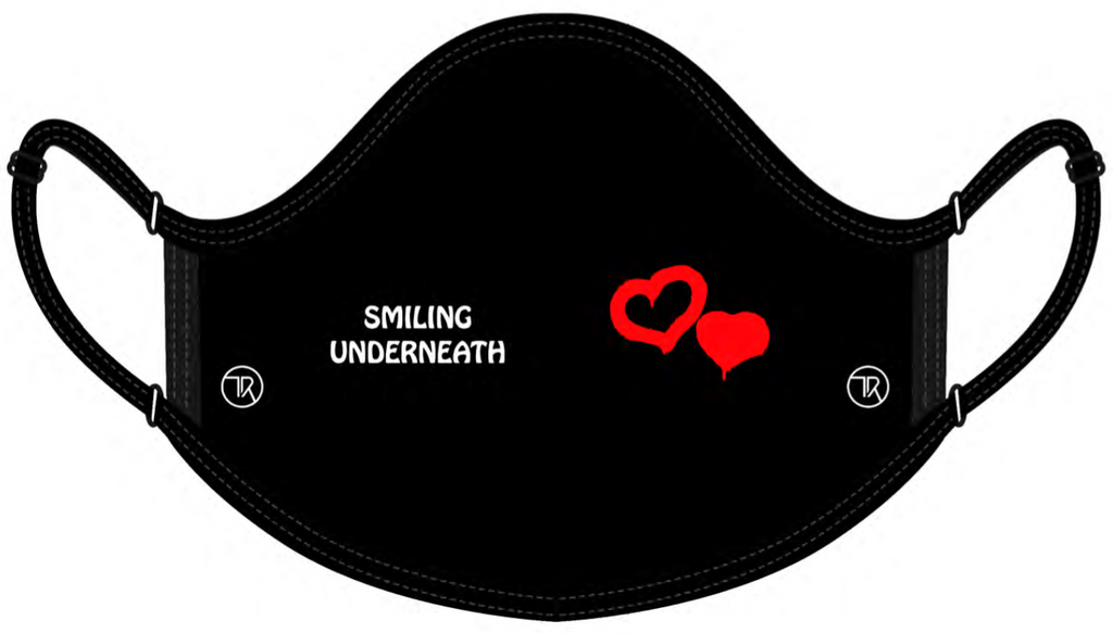 Give Back Face Mask - Smiling Underneath
